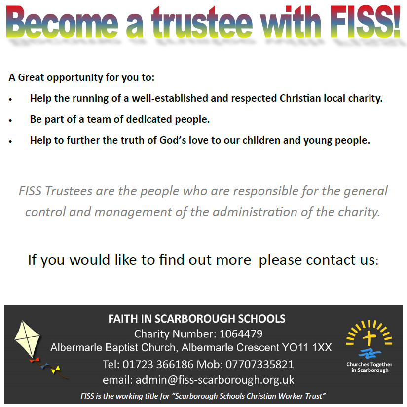 Become a Trustee with FISS!!